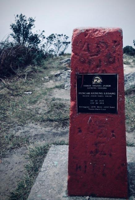 Peak of the Ophir Mountain