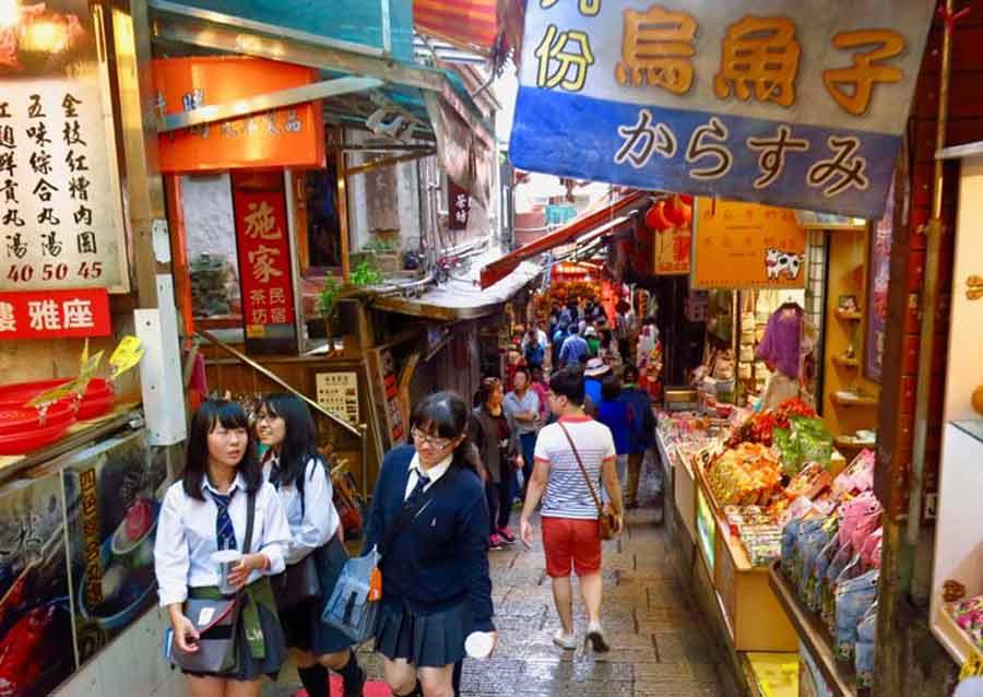 Jiufen Old Streets-Taiwan