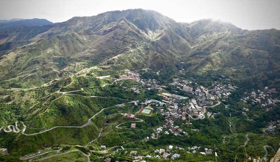 Keelung Hill-Jiufen-Taiwan