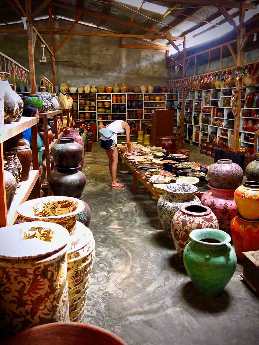 Banyemullek pottery village, with its massive archive of pottery