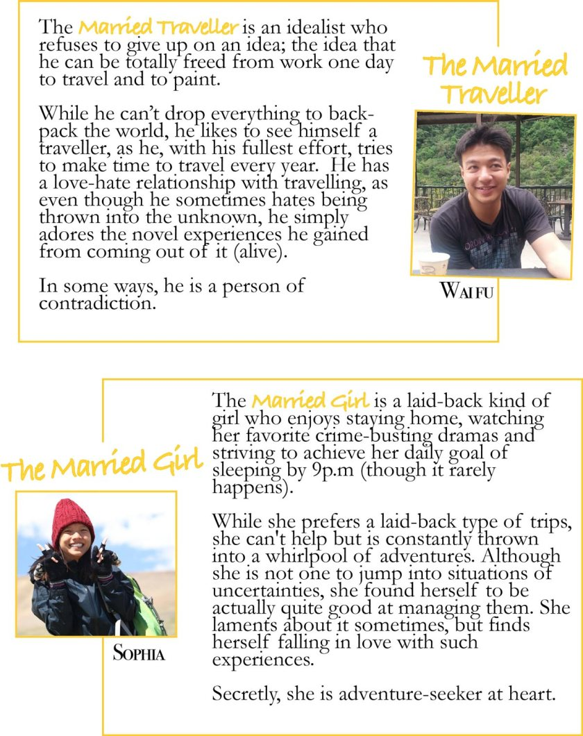 Profile description of The married traveller and The married girl
