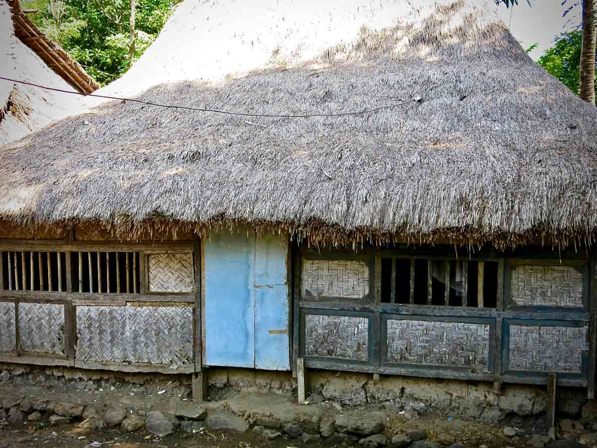 Visit a traditional Sasak house