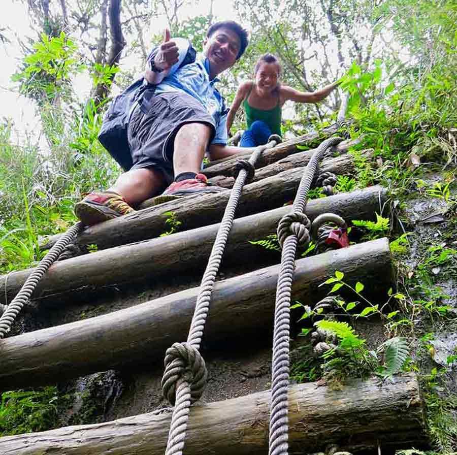 Sandiaoling-hiking