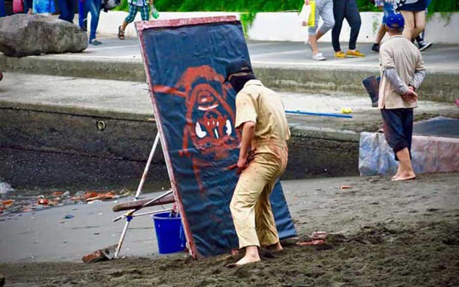Tamsui-street-artists
