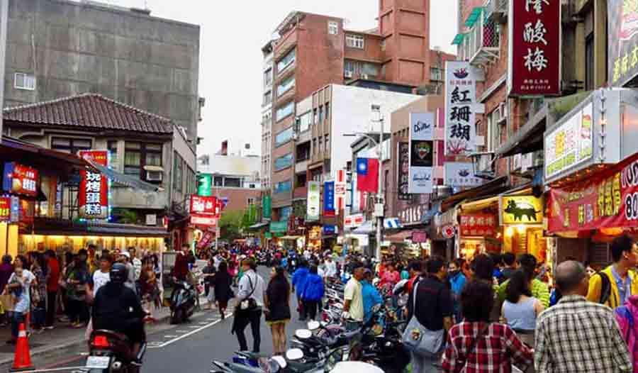 Tamsui-street-Taiwan
