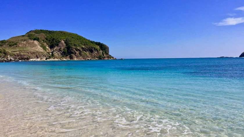 A quiet and peaceful Tanjung Ann beach