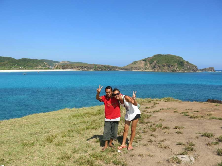 Photo taking over Tanjung Ann Beach