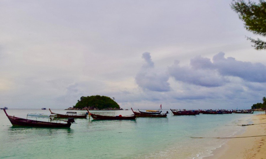 Long-tail boats of Koh Lipe