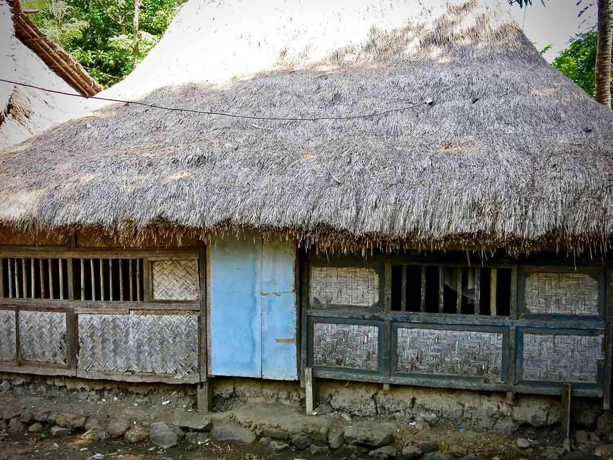 A traditional Sasak house
