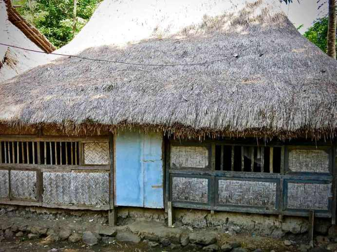 A traditional Sasak house