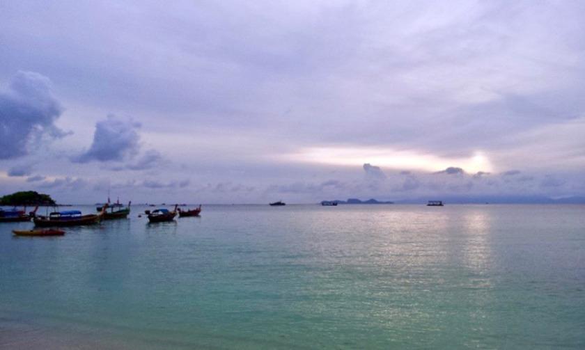 Sun rising in Koh Lipe