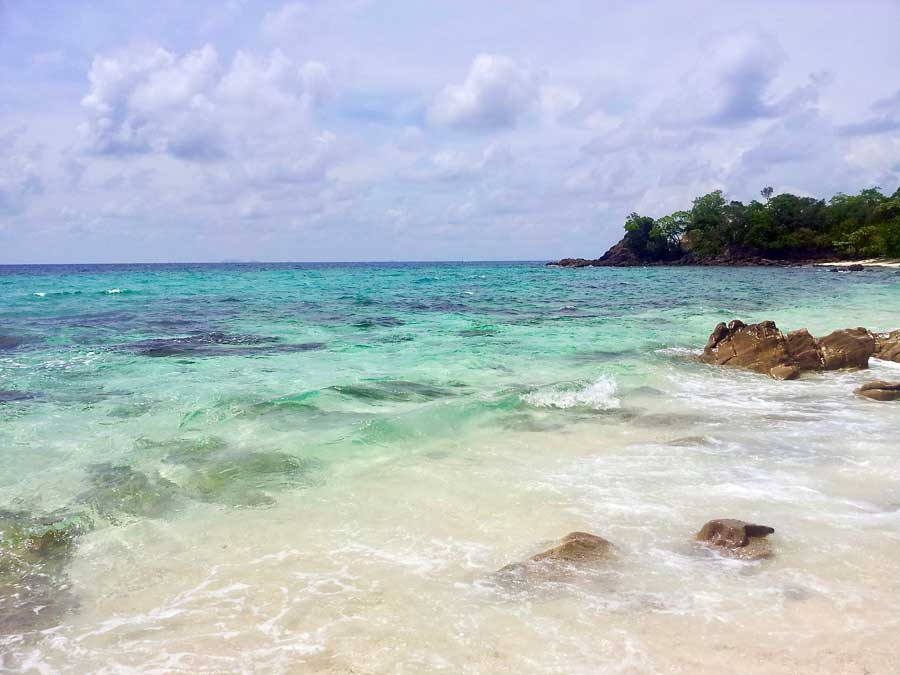 Clear blue water of Koh Lipe