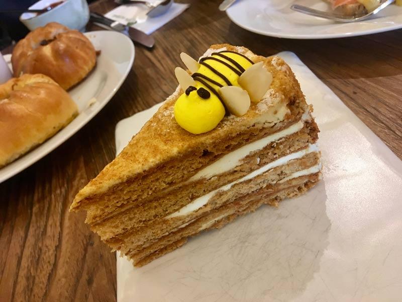 Medovic Honey cake