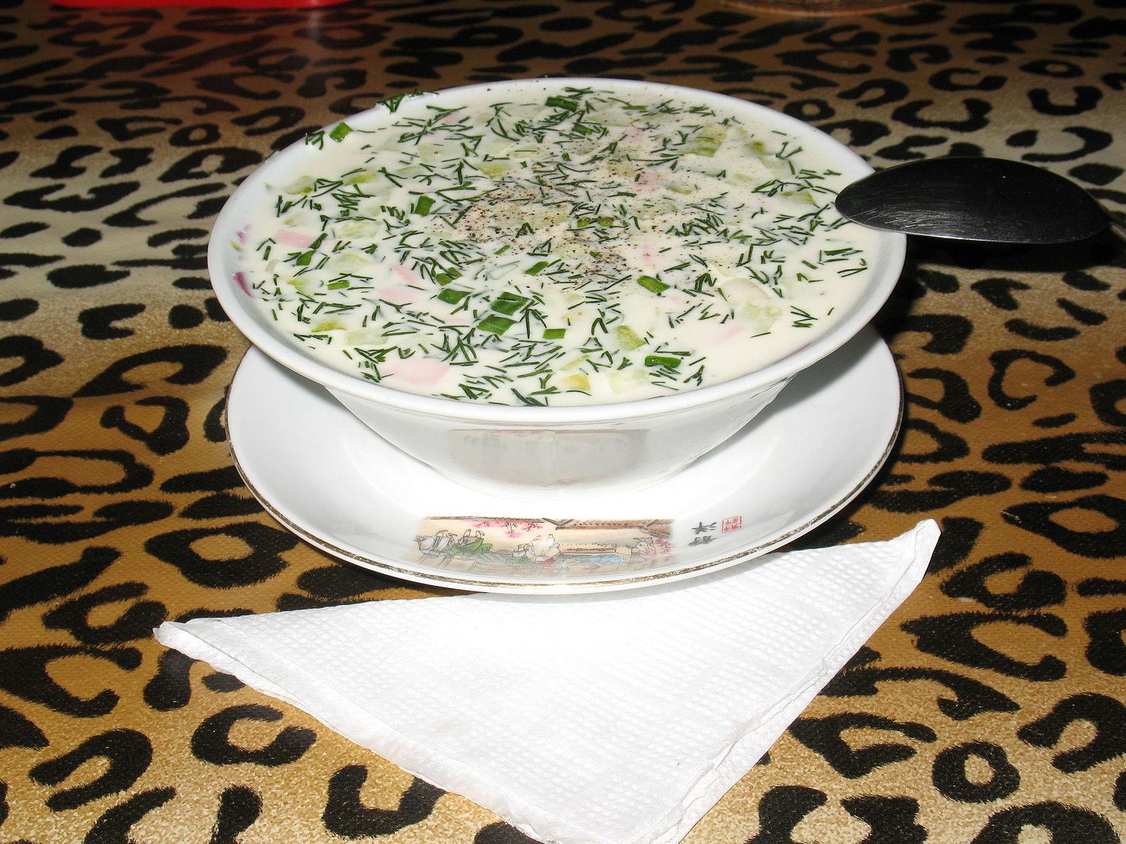 Okroshka soup Moscow