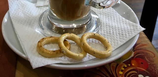 Sushki Russian snack