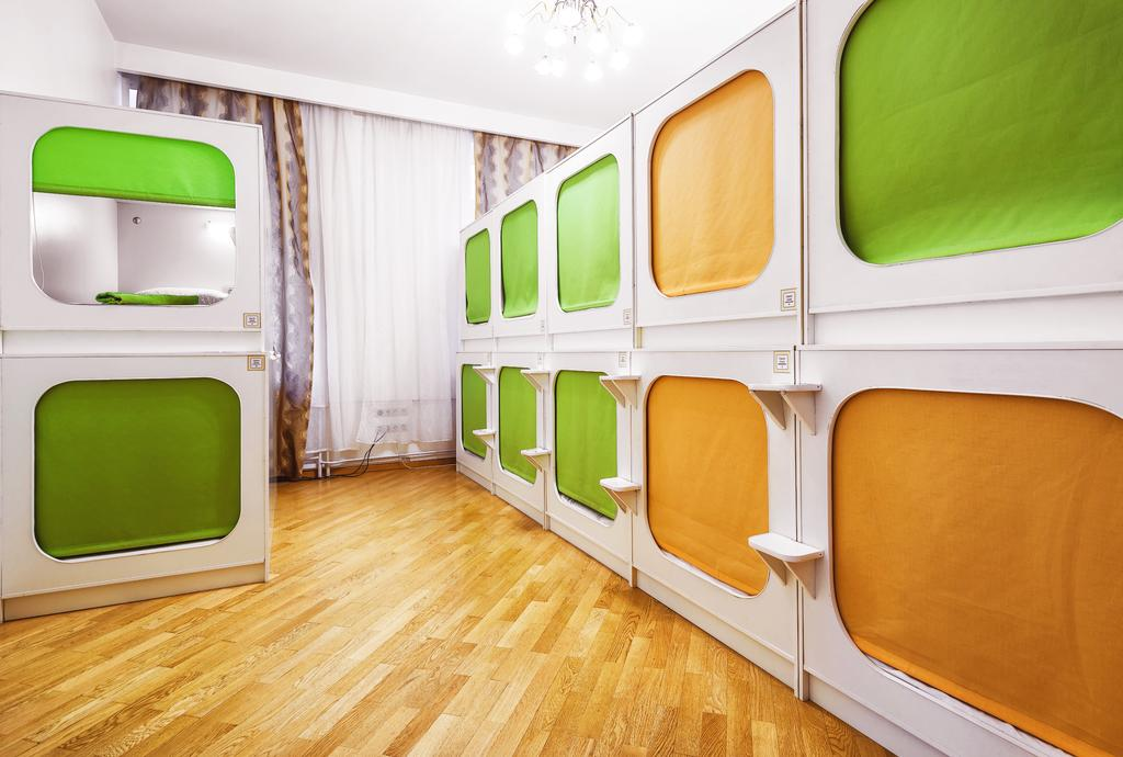 View of Capsule Hostel Moscow