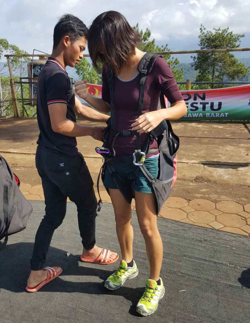 paragliding in malang
