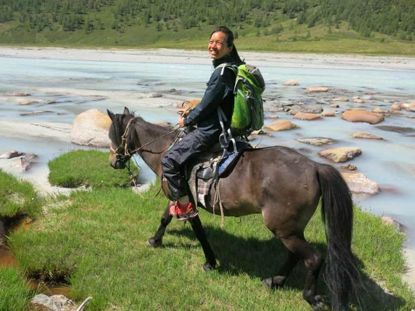 Horse riding mongolia