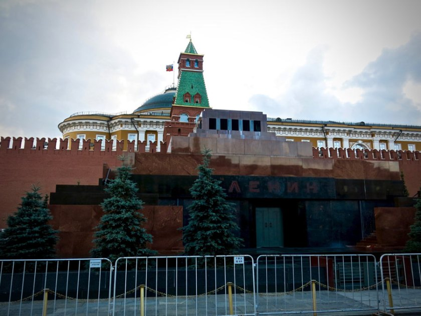 Lenin-Mausoleum Red Square Moscow @amarriedtraveller