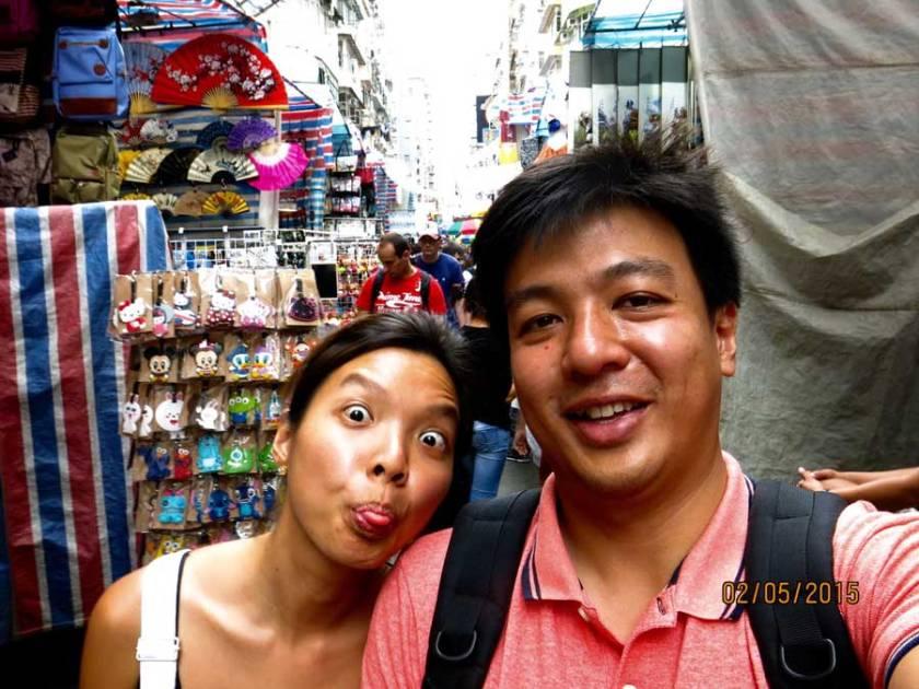 Travelling-through-Hongkong-street-market